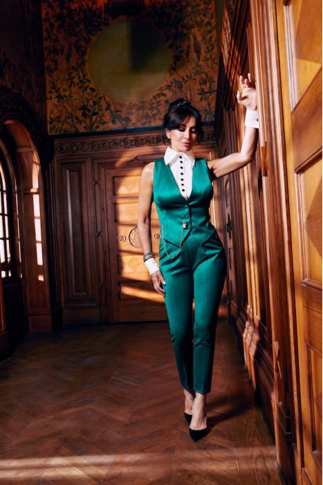 CAROLA PANTS - GREEN